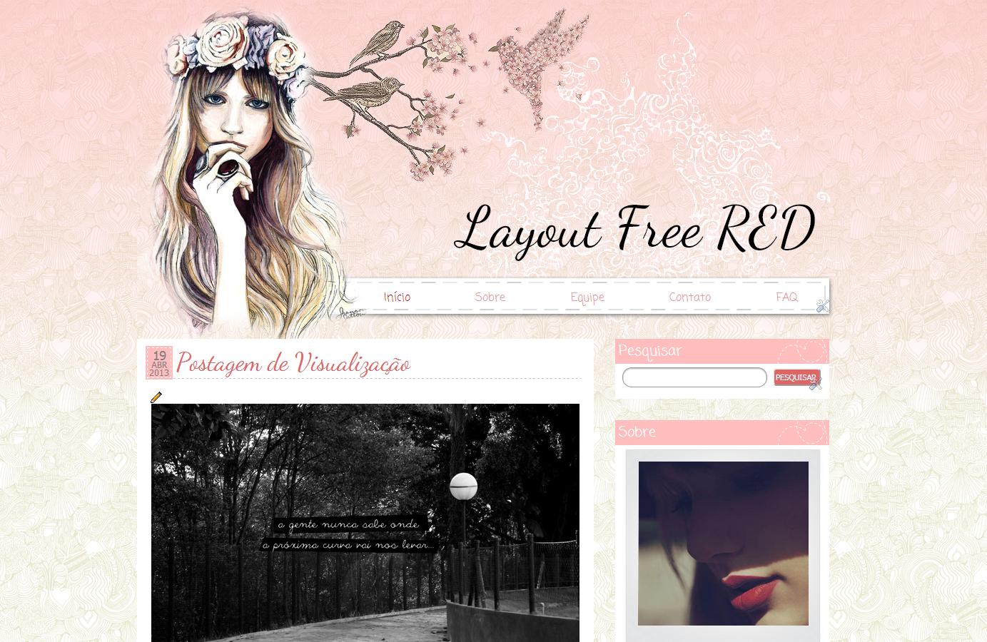 Super Pro seu blog: Top 10 templates free (lindos!) | Bendita Moça NW61